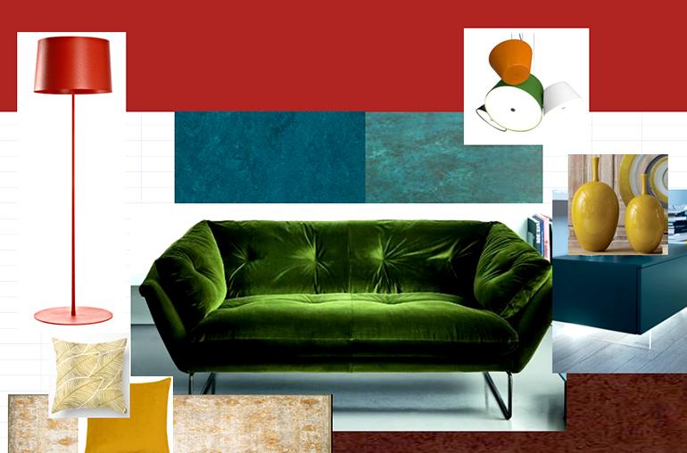 mööbel, valgustid, tekstiilid
