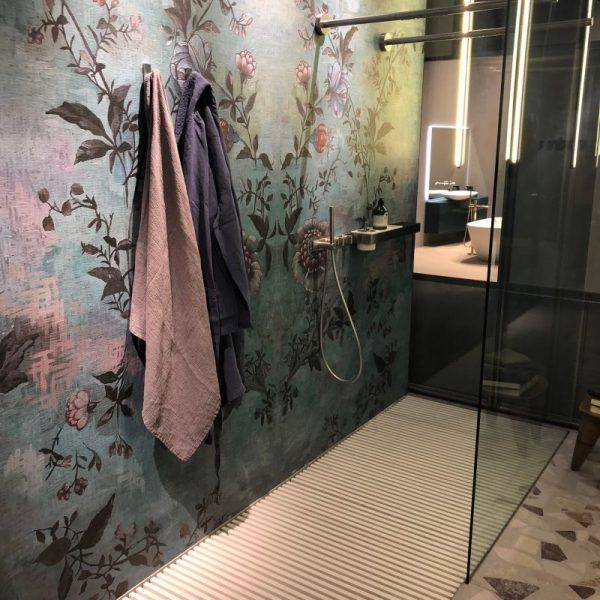 Veekindel tapeet Wall&Decolt. Pilt Milano Sisustusmessilt. 2018